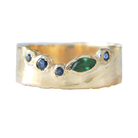Passage Thousand Islands Ring in 14K Yellow Gold
