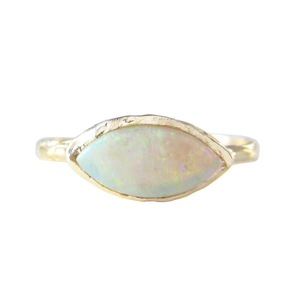 Tribe Opal Ring in 14K Yellow Gold