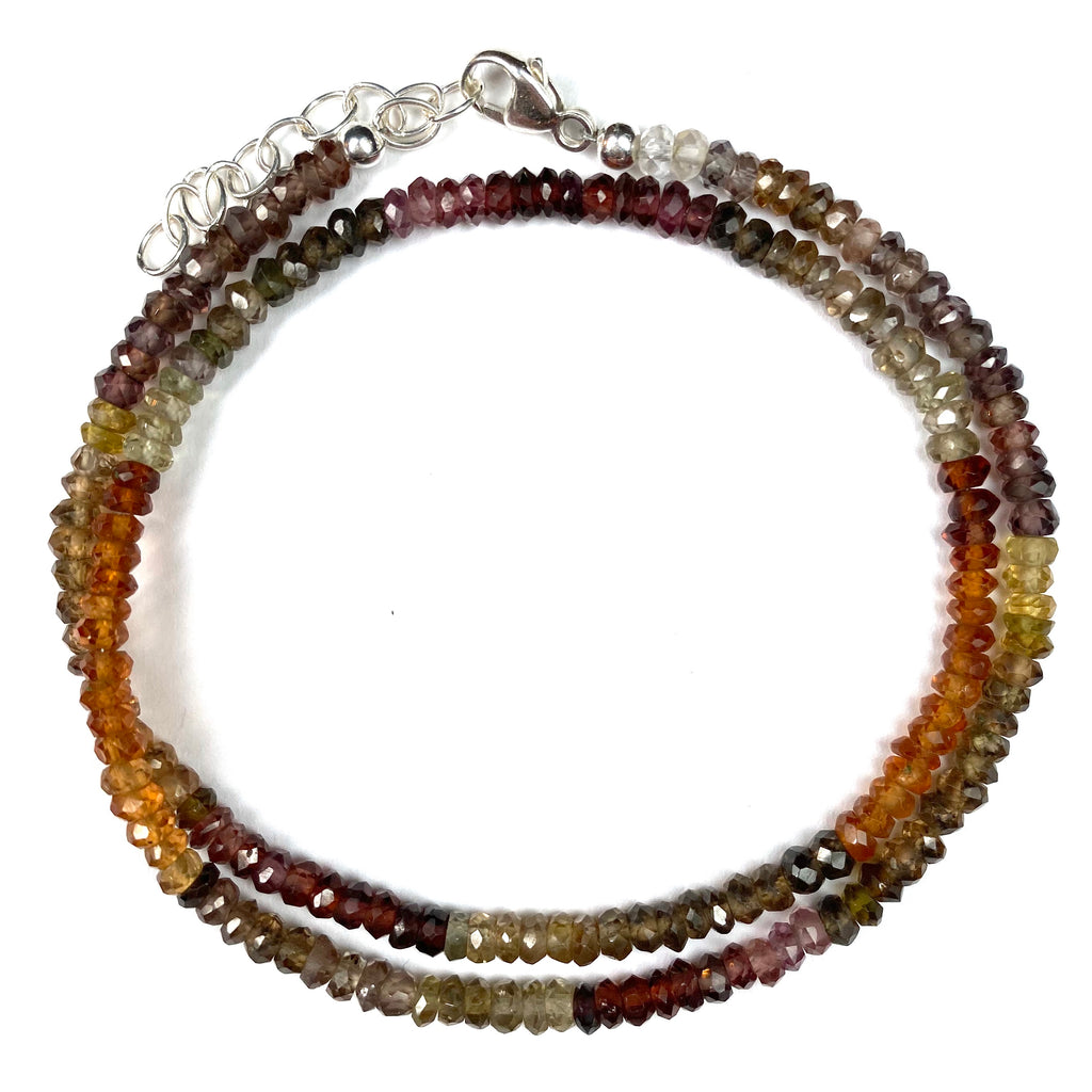 Ombre Gemstone Double Wrap Bracelets