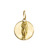 Virgo Zodiac Charm in 18K Gold