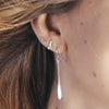 Tiny Cleat Stud Earrings