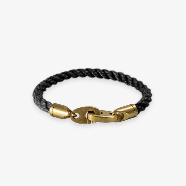 Journey Single Rope Bracelet (Black)