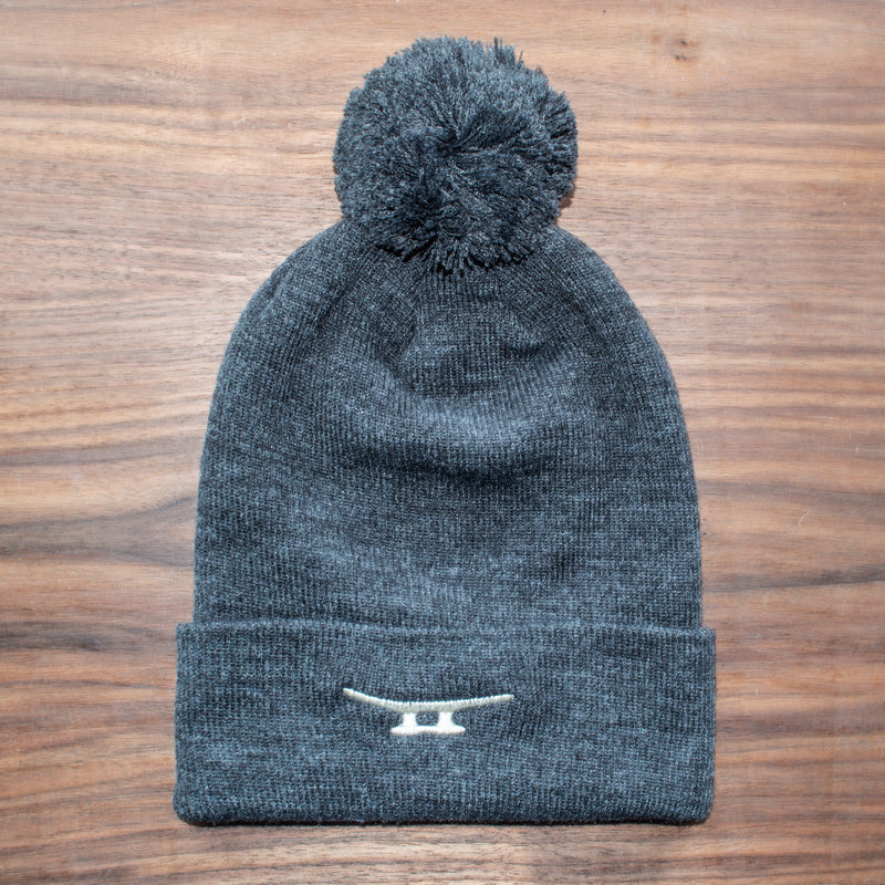 Cleat Beanie with Pom-Pom