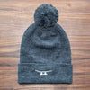 Cuff Knit Beanie with Pom