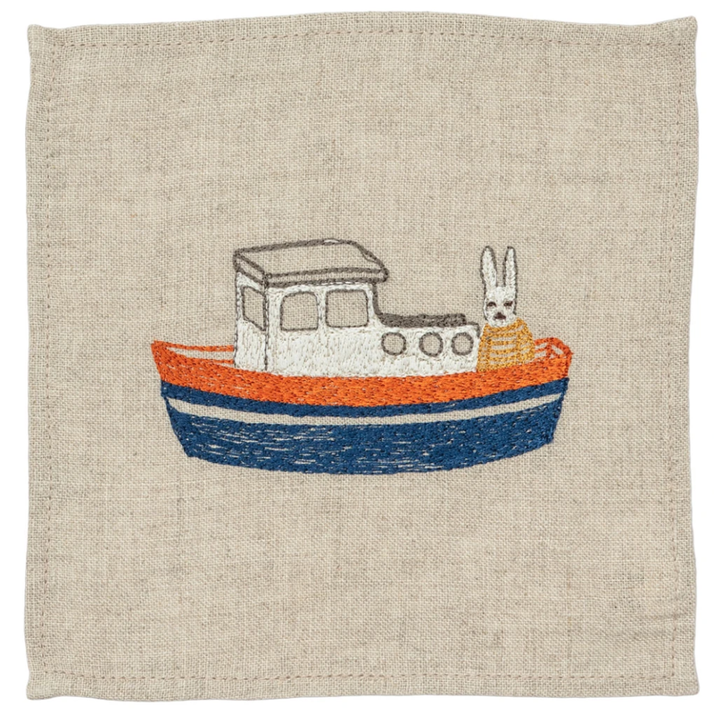 Boat Cocktail Napkins
