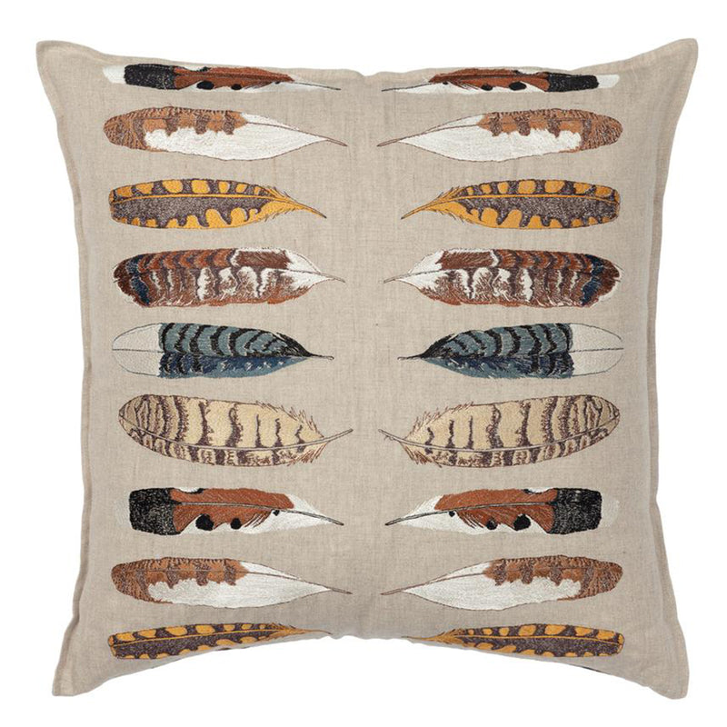 Throw Pillow (Feather Harmony Natural)