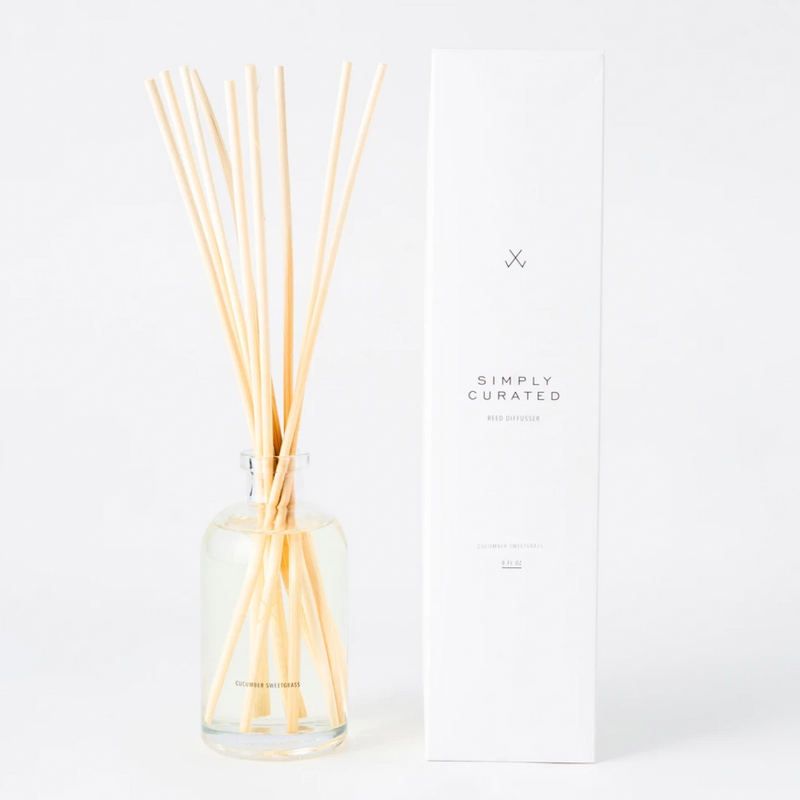 Reed Diffuser (Cucumber Sweetgrass)