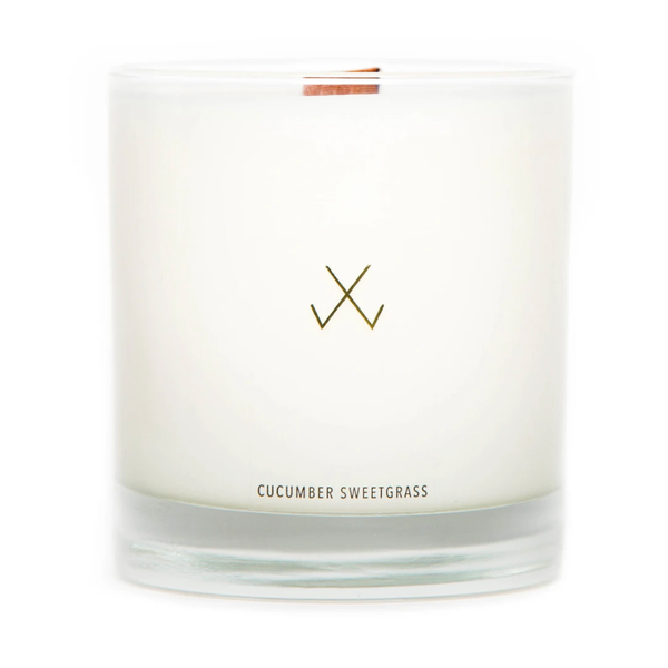 Soy Candle (Cucumber Sweetgrass)