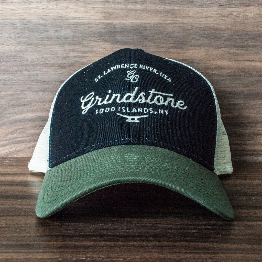 Grindstone Island Mesh Back Trucker Hat (Various Colors)