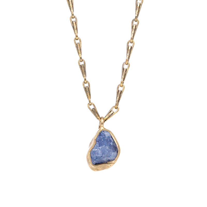 Guardian Pendant Necklace (Tanzanite)