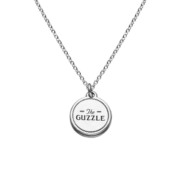 Guzzle Necklace in Sterling Silver