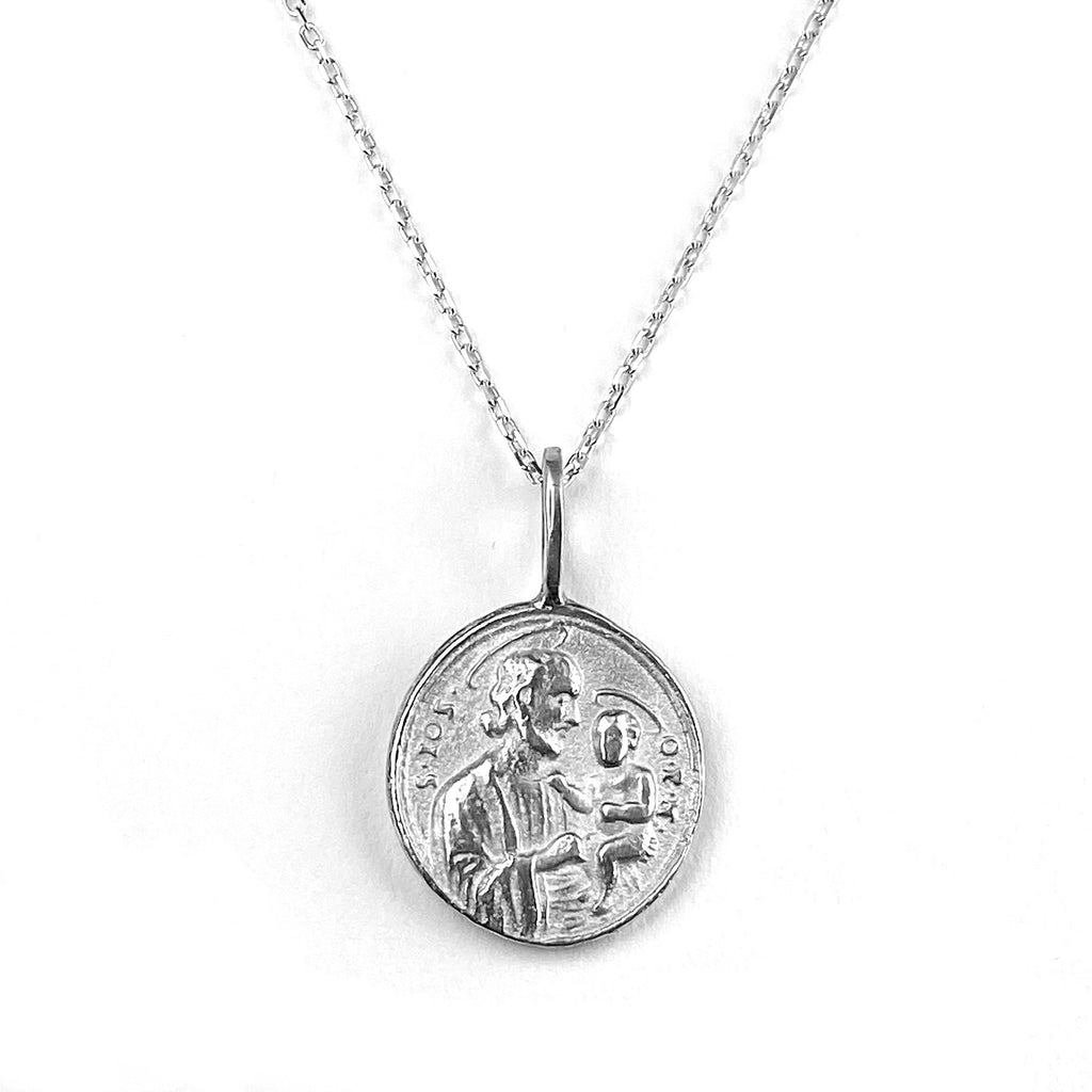 Spirit of the Child Pendant Necklace in Sterling Silver