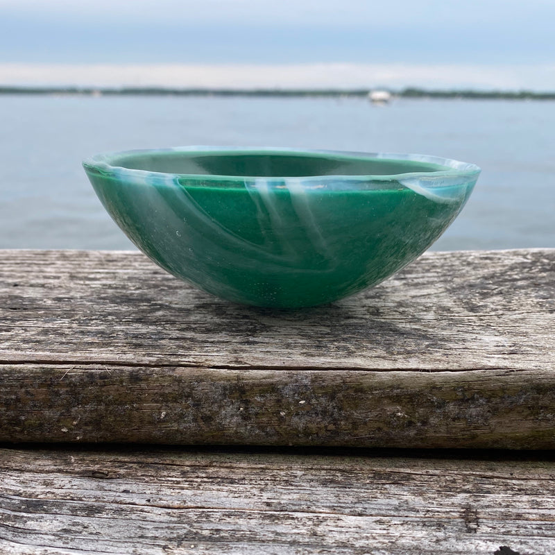 Small Glass Bowl (Cleat)