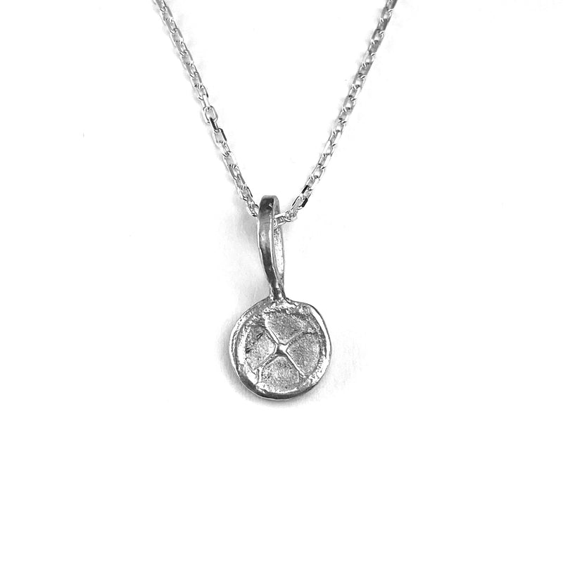 The Shell Pendant Necklace in Sterling Silver