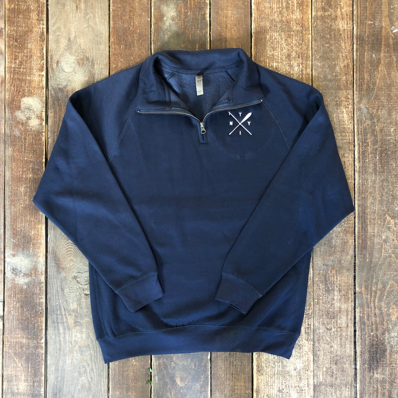 Boat Hook and Paddle Quarter Zip