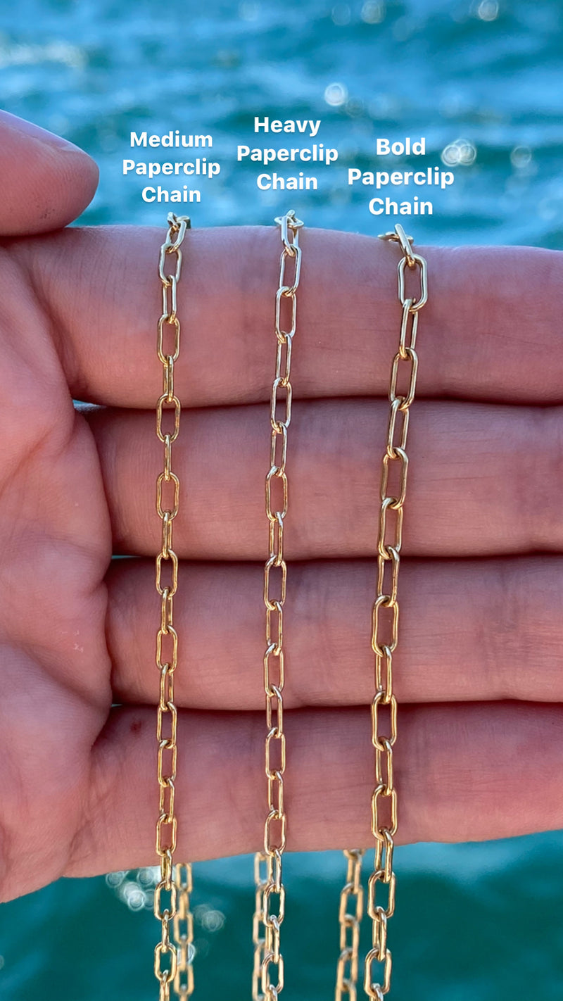 Heavy Paperclip Chain