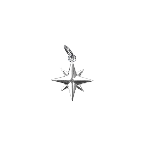 Medium Compass Rose Charm