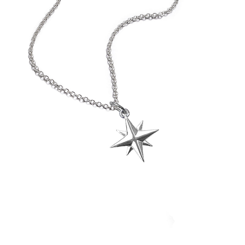 Medium Compass Rose Necklace
