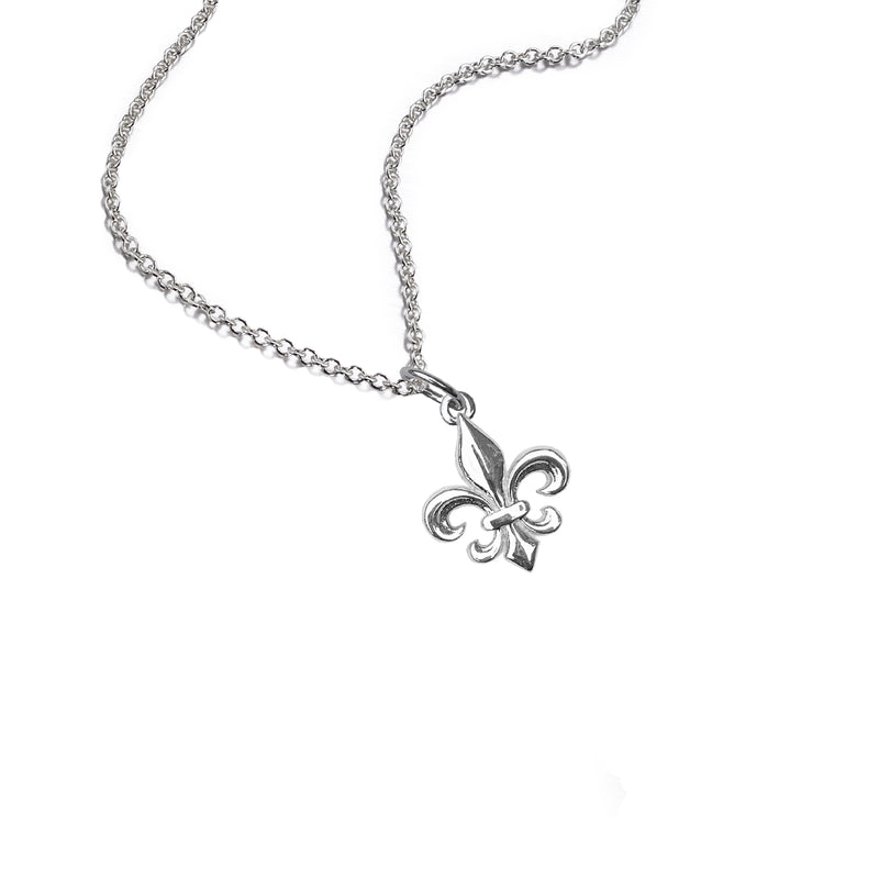 Medium Fleur de Lis Necklace