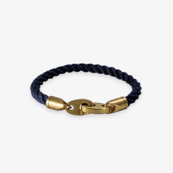 Journey Single Rope Bracelet (Navy)