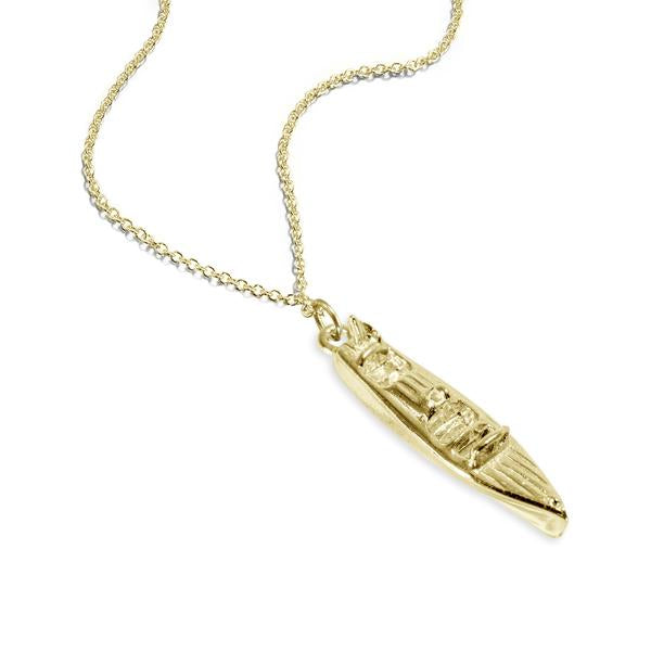 Baby Garwood Boat Necklace