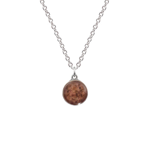 Grindstone Granite Necklace