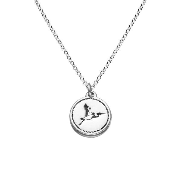 Save the River Necklace in Sterling Silver