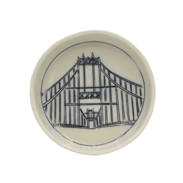 Thousand Islands Bridge Tiny Round Dish