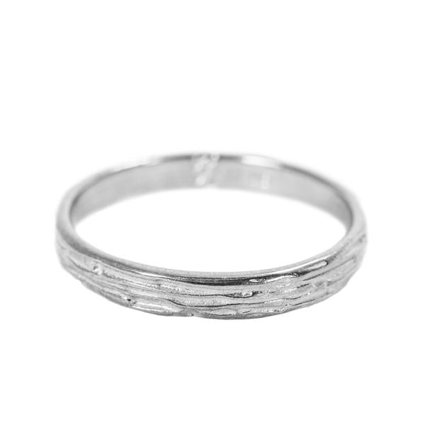 Narrow Ripple Ring