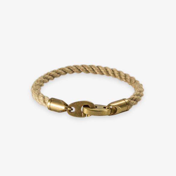 Journey Single Rope Bracelet (Wheat)