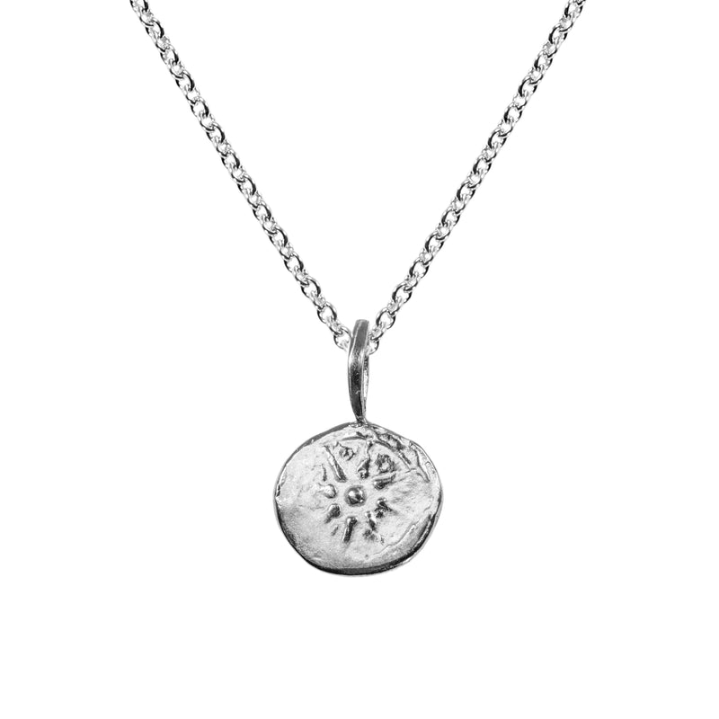 Star Artifact Necklace in Sterling Silver