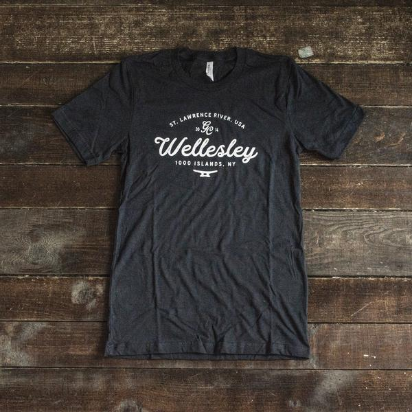 Wellesley Island Unisex Short Sleeve T-Shirt