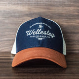 Wellesley Island Mesh Back Trucker Hat
