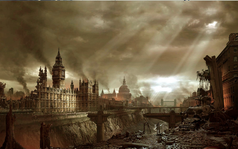 Photo courtesy of: http://www.secretsofthefed.com/wp-content/uploads/2013/05/Post-Apocalypse-London.jpg