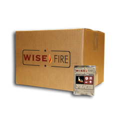 wise fire individual packs, Fire Starter, Fire for emergency, Ideal Fuel, environmentally friendly fuel, recycled material, green, no harmful chemicals