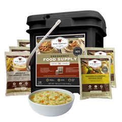 survival food, emergency food, long-term food, entrée