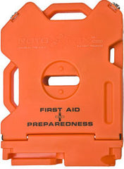 Rotopax 2 Gallon First Aid can, first aid storage, travel kit, survival vehicle kit