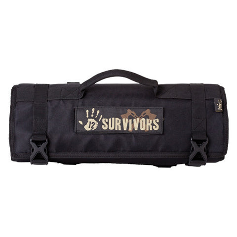 12 Survivors Knife Rollup Kit
