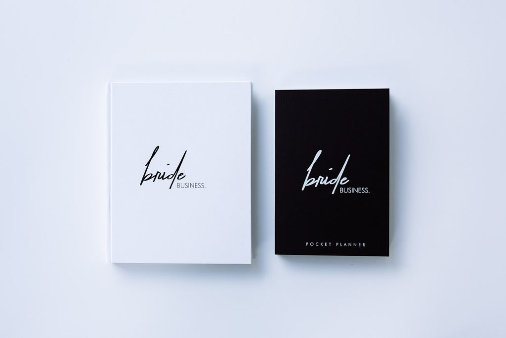 Bride Business and Pocket Planner Bundle