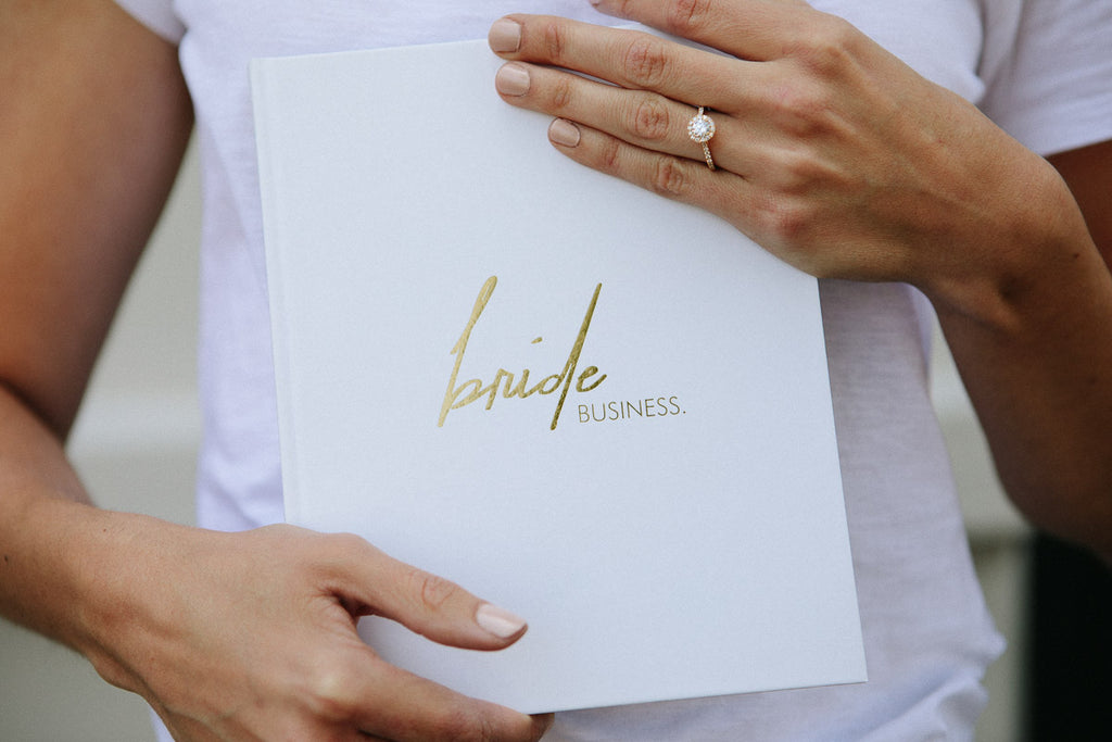 Limited Edition Bride Business Wedding Planning Book