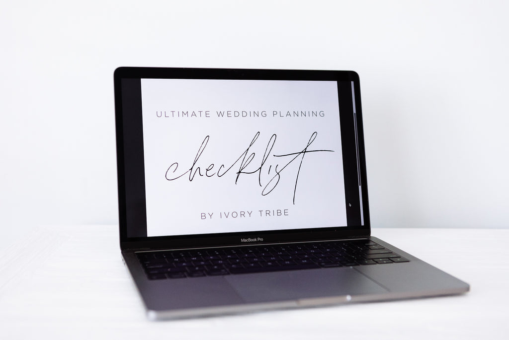 DOWNLOADABLE ULTIMATE WEDDING PLANNING CHECKLIST
