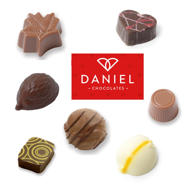 build a box of your favourite Daniel Chocolates
