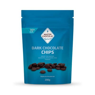 dark chocolate chips - 200g -