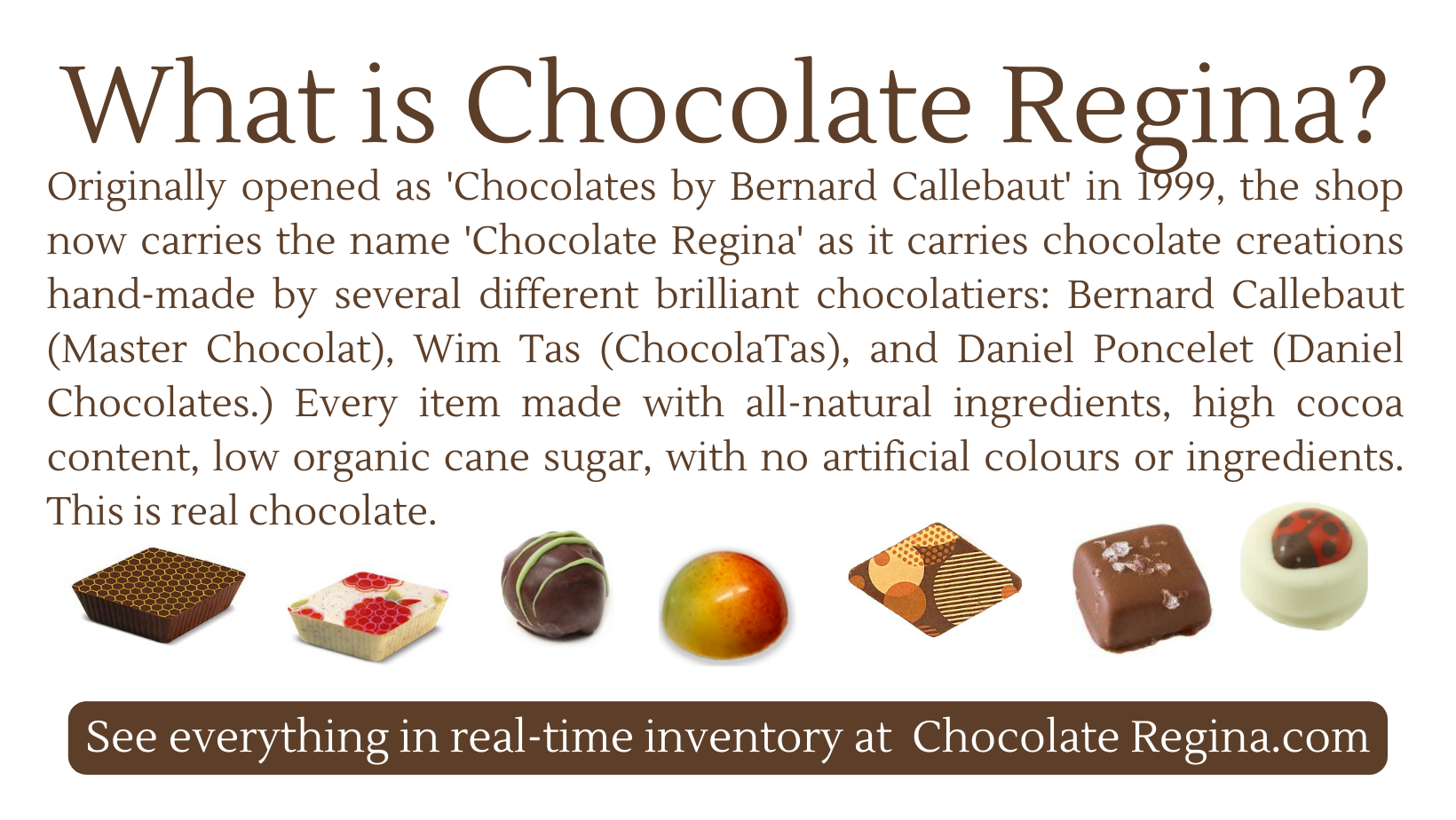 Chocolate Regina Ltd o/a Chocolates by Bernard Callebaut in Regina