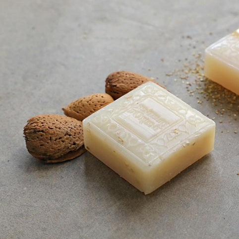 Almond Exfoliating Mini Soap