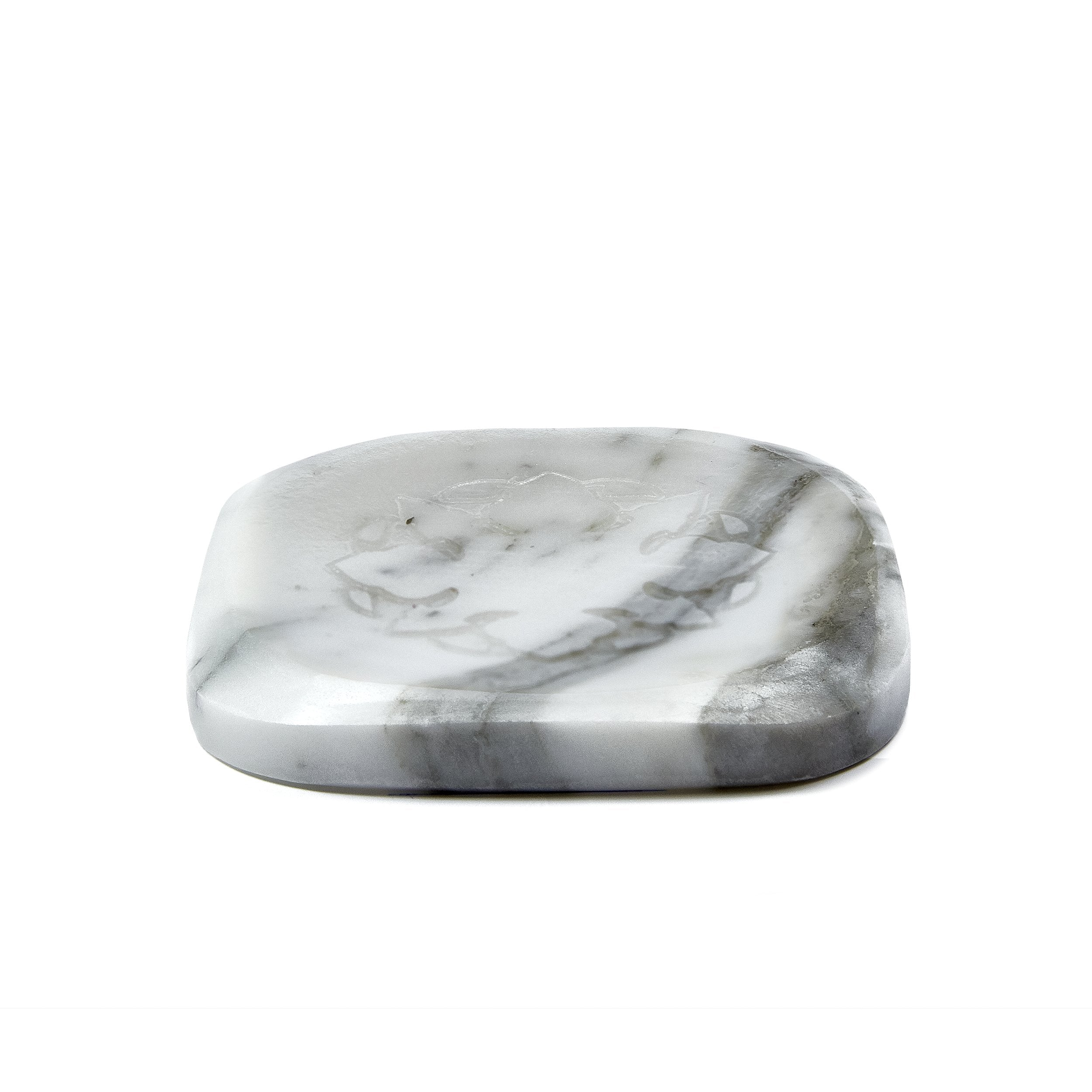 White Marble with Orange Blossom