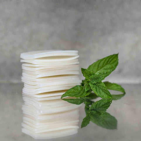 Mint Tea Soap Leafs