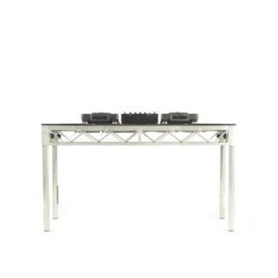 DJ Stage Deck 1800 with DJ Gear Front