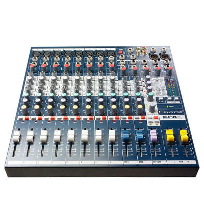 Soundcraft EFX8 Mixing Desk Front Angle