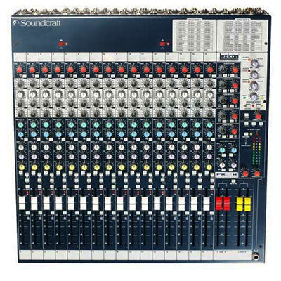 Soundcraft FX16ii Mixing Desk Top